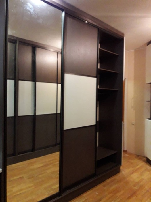 Встроенные шкафы-купе-Шкаф-купе из ЛДСП «Модель 86»-фото13