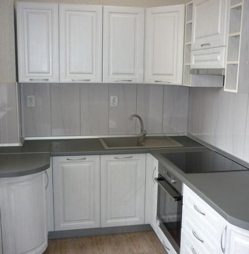 -Кухня МДФ в ПВХ «Модель 249»-фото9