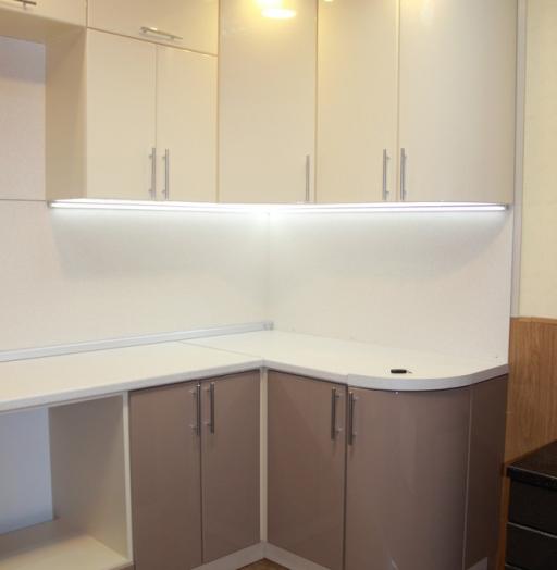 Встроенная кухня-Кухня МДФ в ПВХ «Модель 362»-фото4