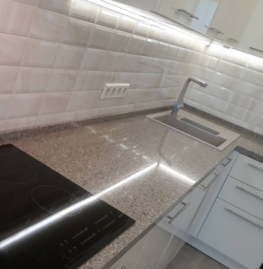 Белый кухонный гарнитур-Кухня МДФ в ПВХ «Модель 279»-фото8