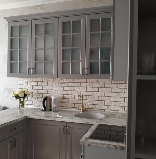 -Кухня МДФ в эмали «Модель 281»-фото26