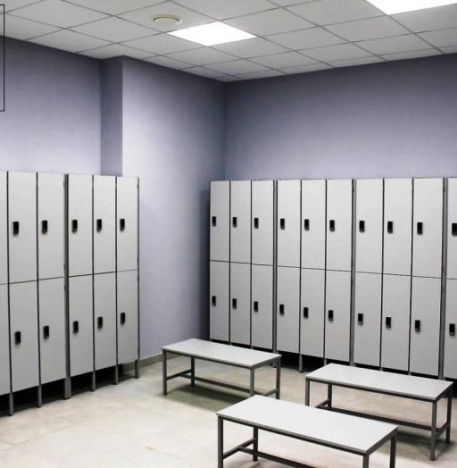 Торговая мебель-Шкафчики для раздевалки «Модель 158»-фото2