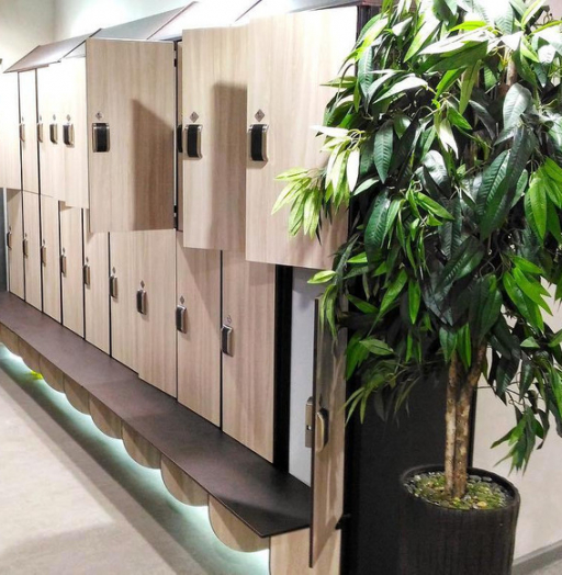 Торговая мебель-Шкафчики для раздевалки «Модель 161»-фото5