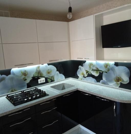 -Кухня из пластика «Модель 382»-фото11