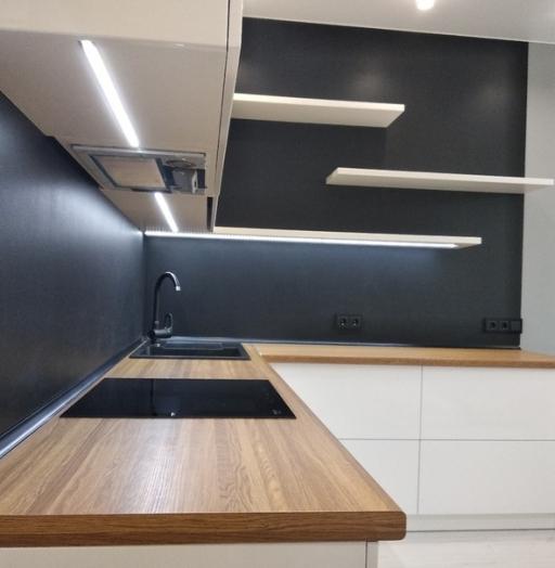 -Кухня МДФ в эмали «Модель 443»-фото14
