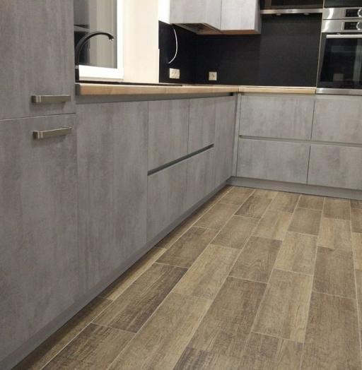 Встроенная кухня-Кухня из пластика «Модель 450»-фото7