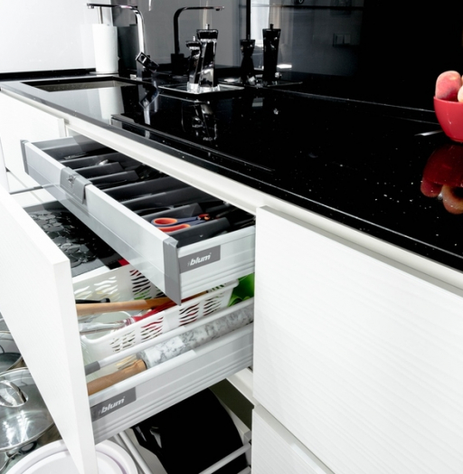 -Кухня из пластика «Модель 343»-фото4