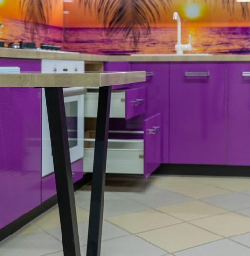 -Кухня МДФ в ПВХ «Модель 45»-фото15