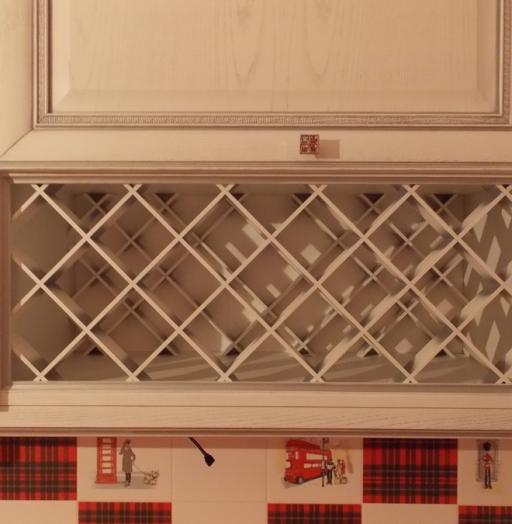 Белый кухонный гарнитур-Кухня из шпона «Модель 13»-фото7