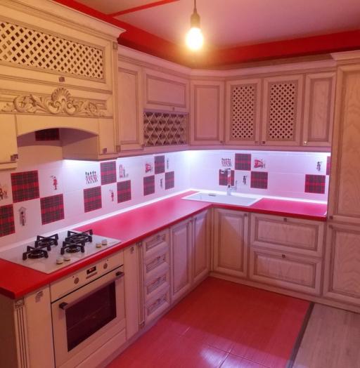 -Кухня из шпона «Модель 13»-фото12