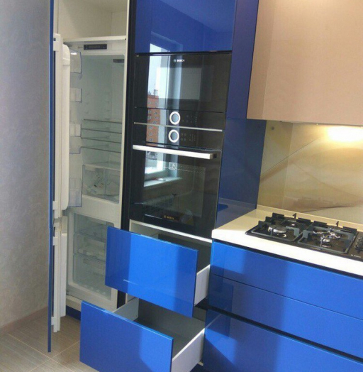 -Кухня МДФ в эмали «Модель 164»-фото9