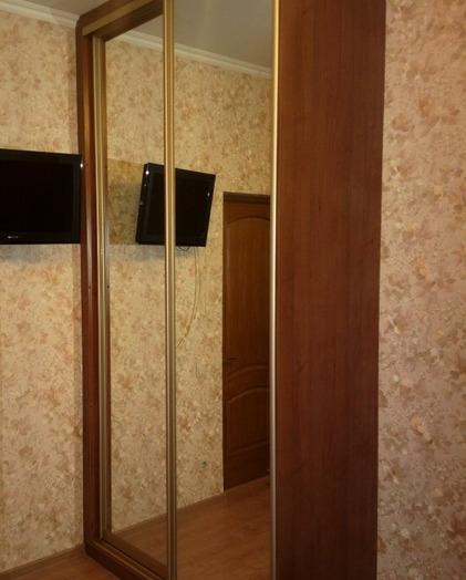 Двухдверный шкаф-купе-Шкаф-купе с зеркалом «Модель 186»-фото3